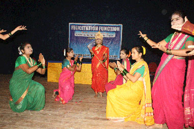 Felicitation Function of Successful Students (June-2010 Exam)